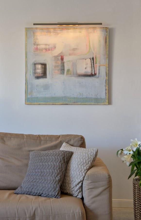 Hod HaSahron Apt - Living room 1