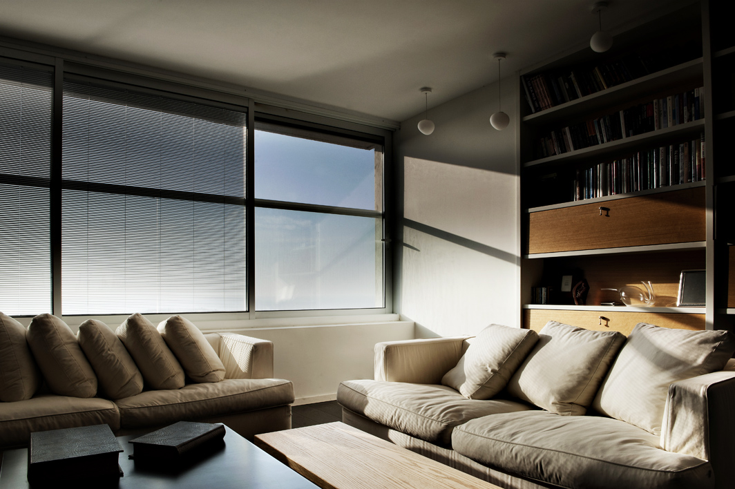 Ramat Aviv Penthouse - Living room 2