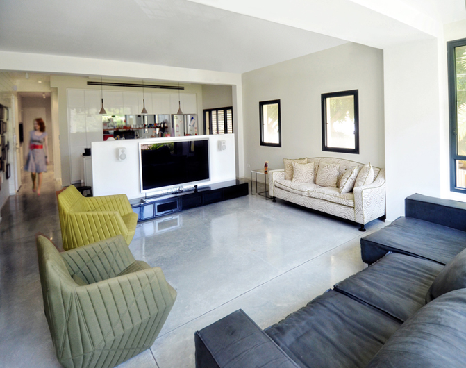 Modeliani Residence - Living room 1