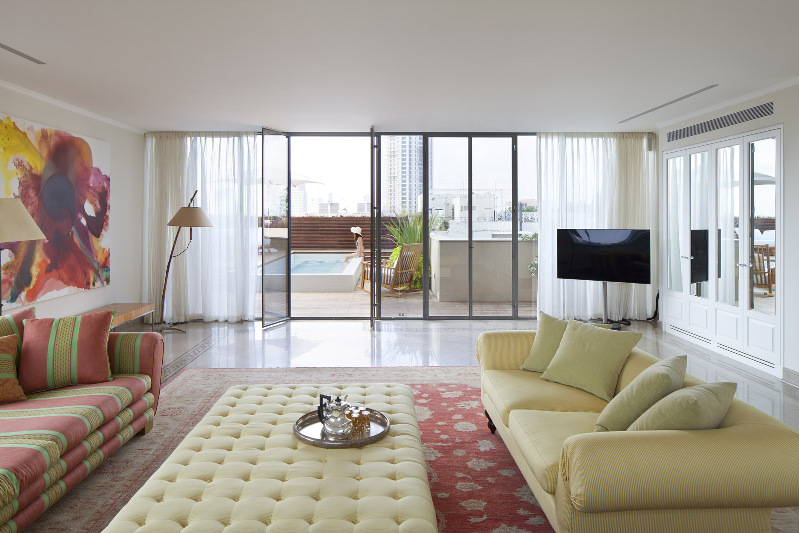 White City Residence - Living room 2